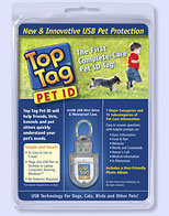 Top Tag Pet ID Package